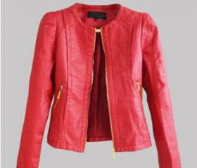Leather coat CX109A